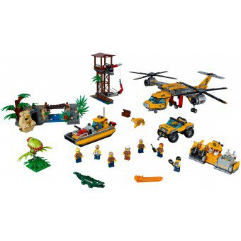 LEGO 60162 : Jungle helikopterdropping