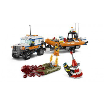 LEGO 60165 : Kustwacht Reddingsvoertuig 4x4