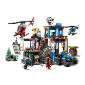 LEGO 60174 : Politiekantoor op de berg