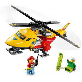 LEGO 60179 : Ambulance helikopter