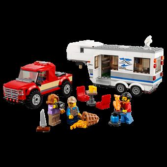 LEGO 60182 : Pick-uptruck en caravan