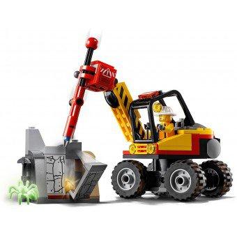 LEGO 60185 : Krachtige mijnbouwsplitter