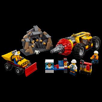 LEGO 60186 : Zware mijnbouwboor