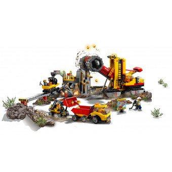 LEGO 60188 : Mijnbouw expert locatie