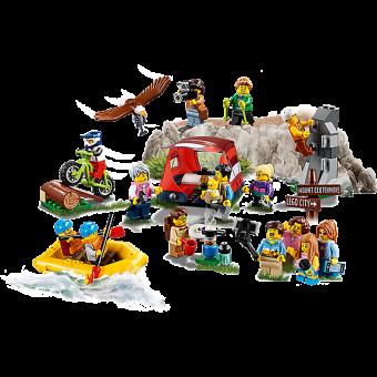 LEGO 60202 : Personenpakket - Buitenavonturen