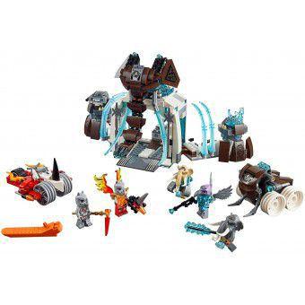 LEGO Legends of Chima De bevroren Mammoet Burcht 70226