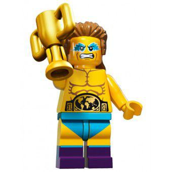 LEGO Minifiguren Serie 15 - Worstelkampioen