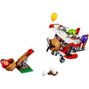 LEGO Angry Birds Piggy Vliegtuigaanval 75822