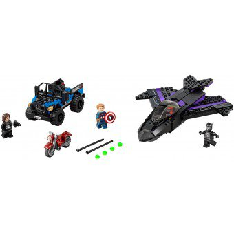 LEGO 76047 Super Heroes:  Black Panther achtervolging