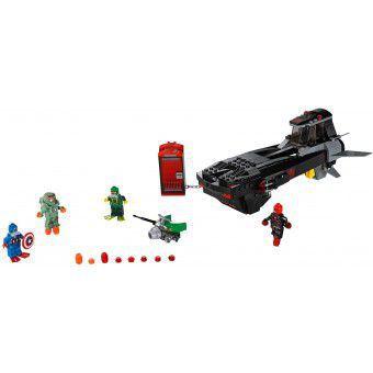 LEGO Marvel Super Heroes Iron Skull Duikbootaanval 76048