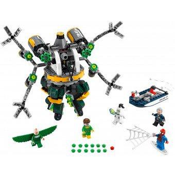 LEGO 76059 Super Heroes: Spider-Man: Doc Ock's tentakel-valstrik