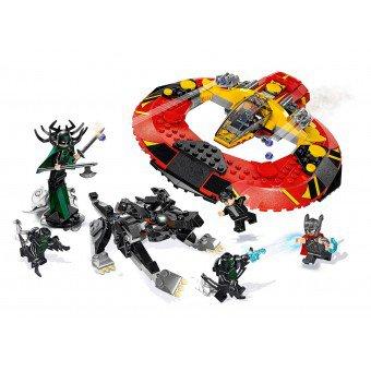 LEGO 76084 Super Heroes: De definitieve strijd om Asgaard