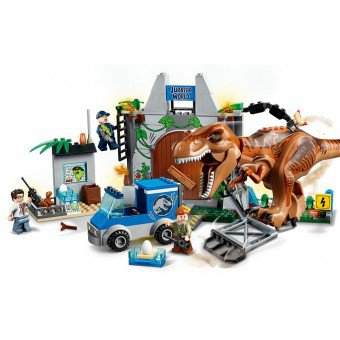 LEGO 10758 Juniors: T. rex ontsnapping