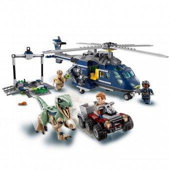 LEGO 75928 Jurassic World: Helikopterachtervolging van Blue