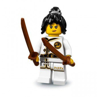 LEGO 71019 Minifiguren: Spinjitzu Training Nya