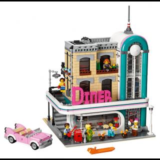 LEGO 10260 Gebouwen: Diner in de stad kopen
