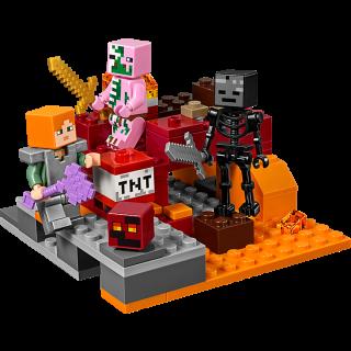 LEGO 21139 Minecraft: Het onderwereldgevecht kopen