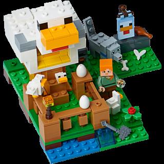 LEGO 21140 Minecraft: Het kippenhok kopen