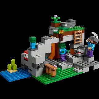 LEGO 21141 Minecraft: De zombiegrot kopen