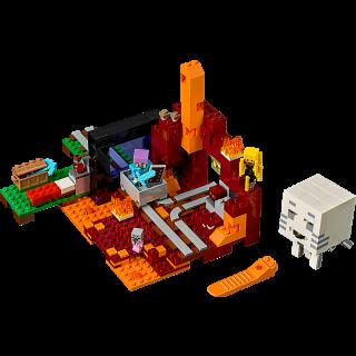 LEGO 21143 Minecraft: Het onderwereldportaal kopen