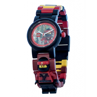 LEGO Horloge: Kai Minifiguur Kinderhorloge kopen