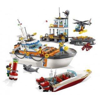 LEGO 60167 City: Kustwacht Boot & hoofdkwartier kopen