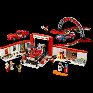 LEGO 75889 Speed Champions: Ultieme Ferrari garage kopen
