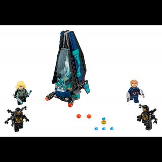 LEGO 76101 Super Heroes: Outrider shuttle aanval kopen