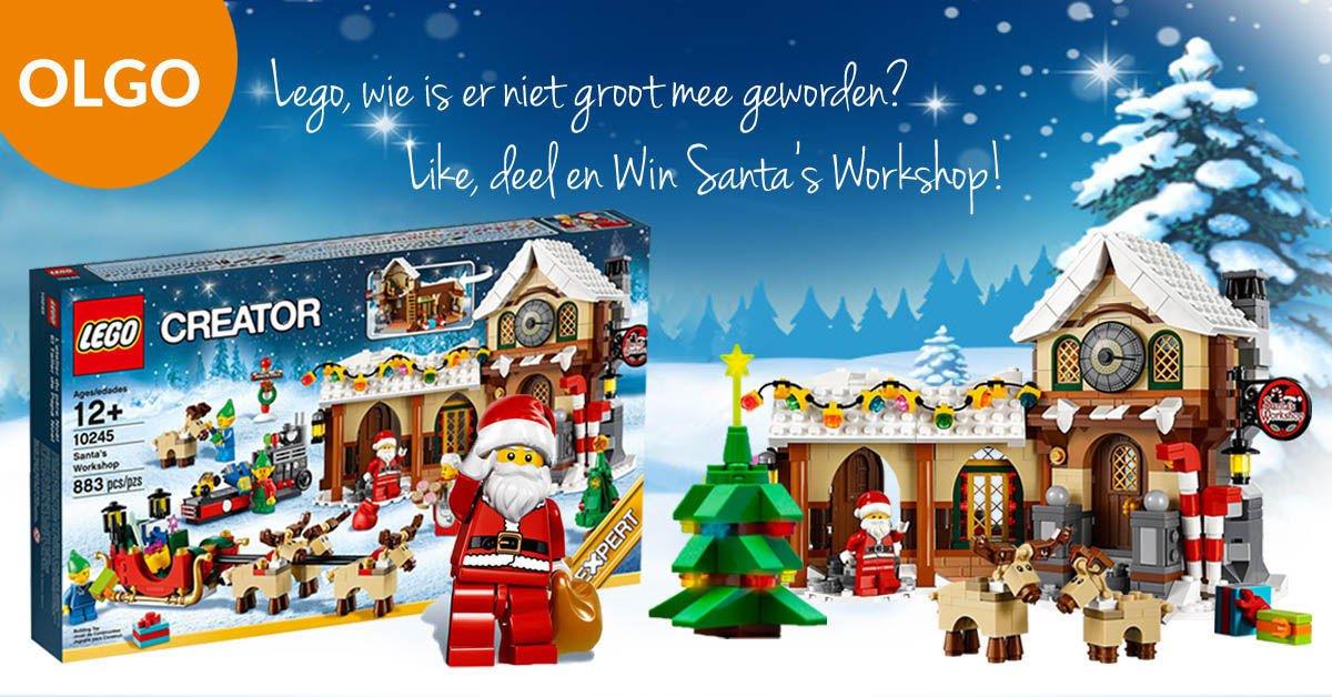 Deel Like en win deze Exclusieve LEGO Kerst set